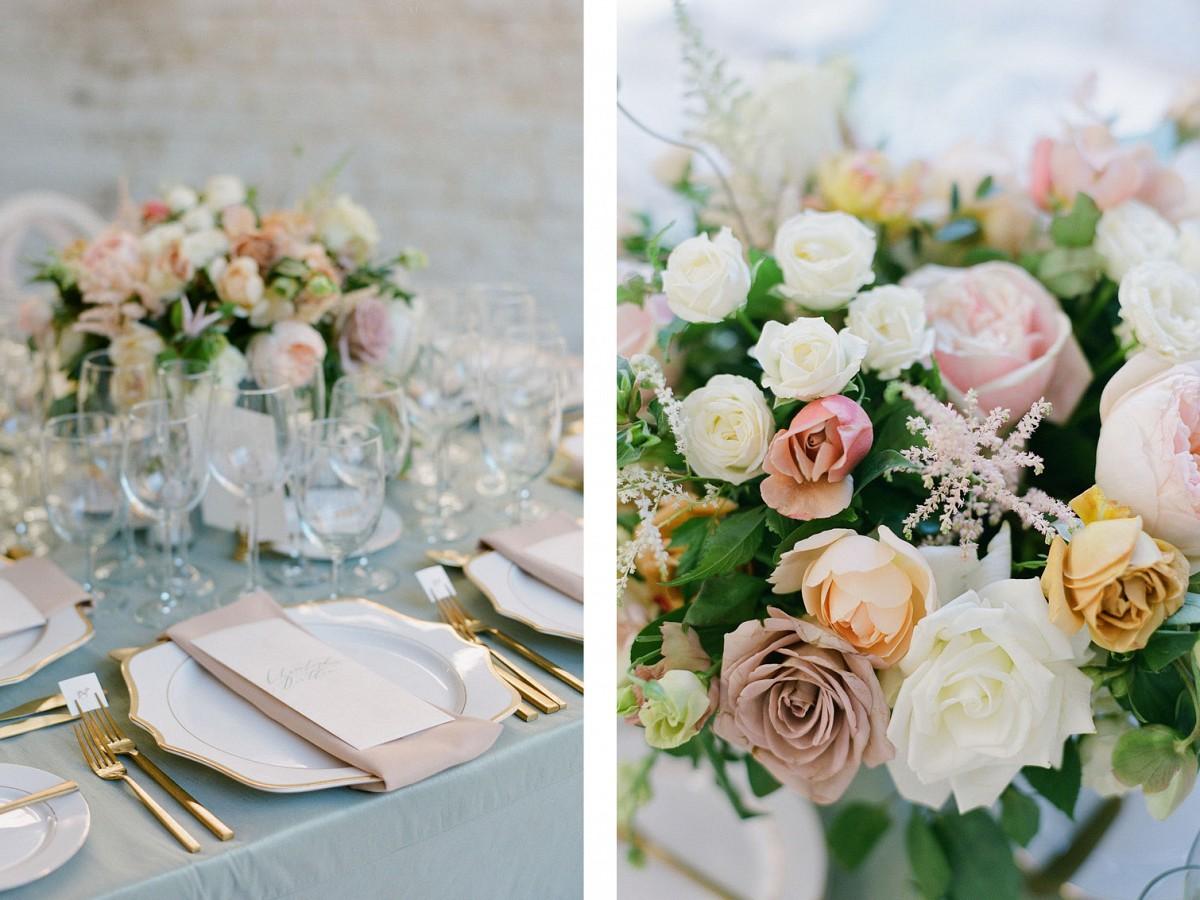 Garden Inspired Neutral Wedding in Charleston