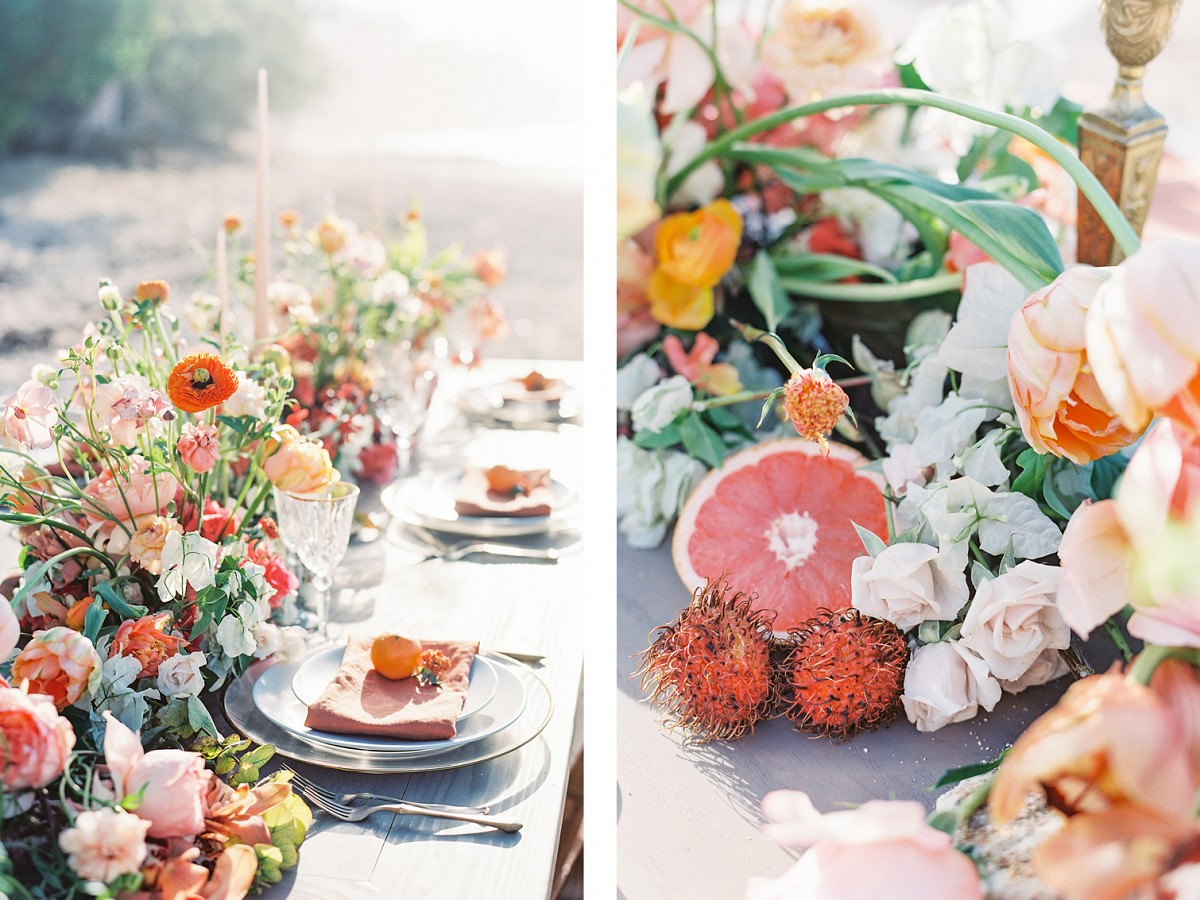 Modern and Colorful Hawaii Wedding Inspiration