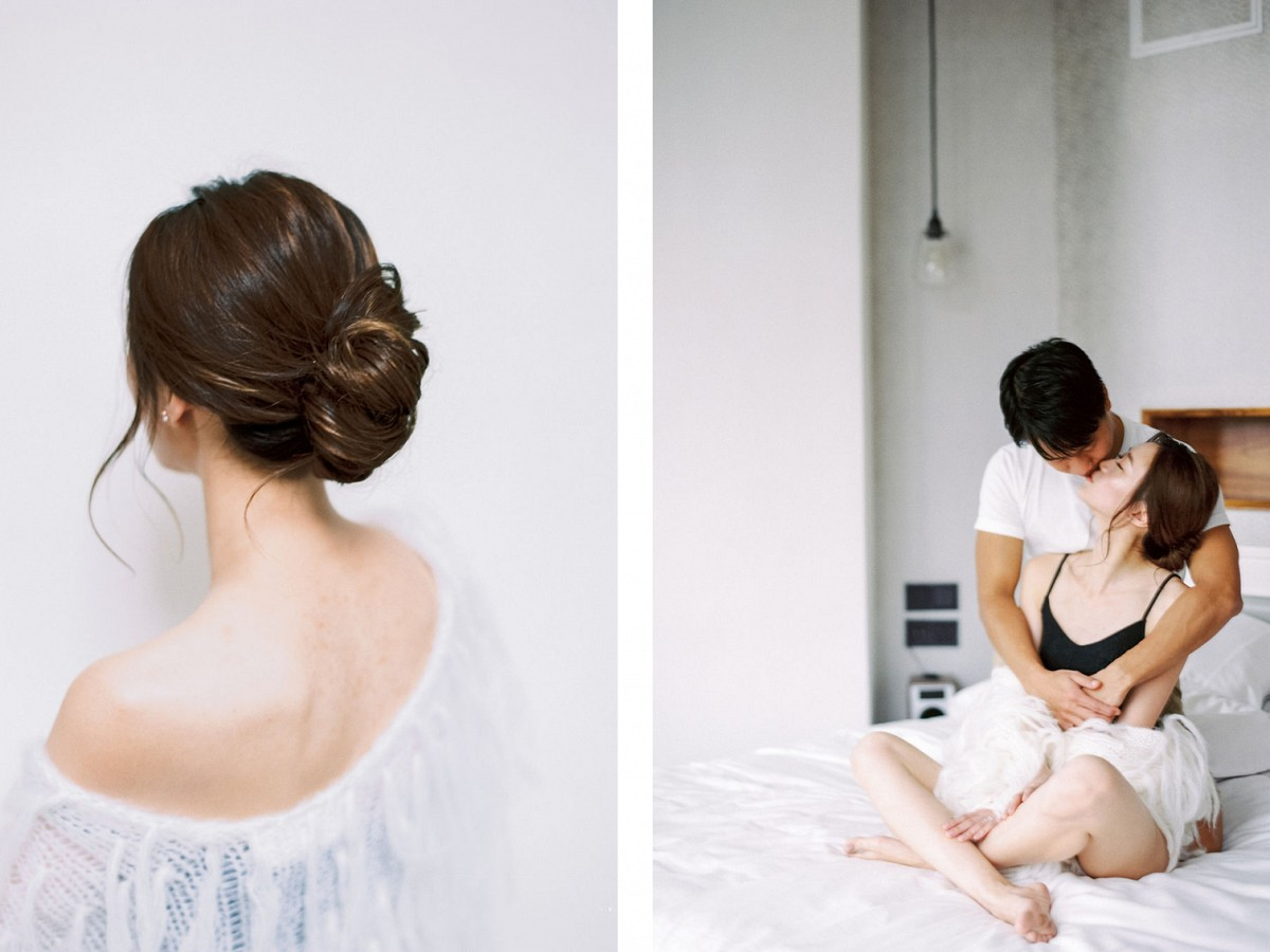 Penthouse At Home Engagement Session