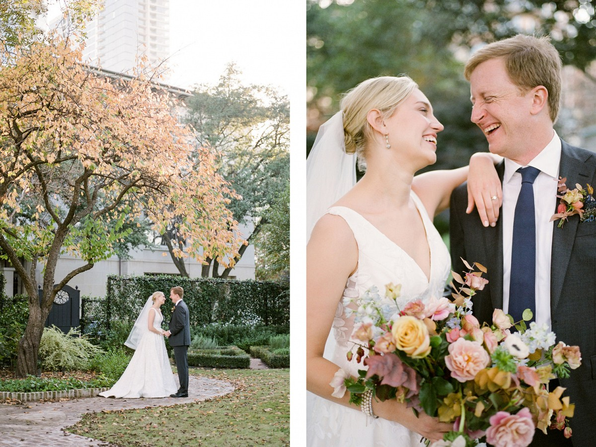 Intimate Houston Wedding with Mexican Food!