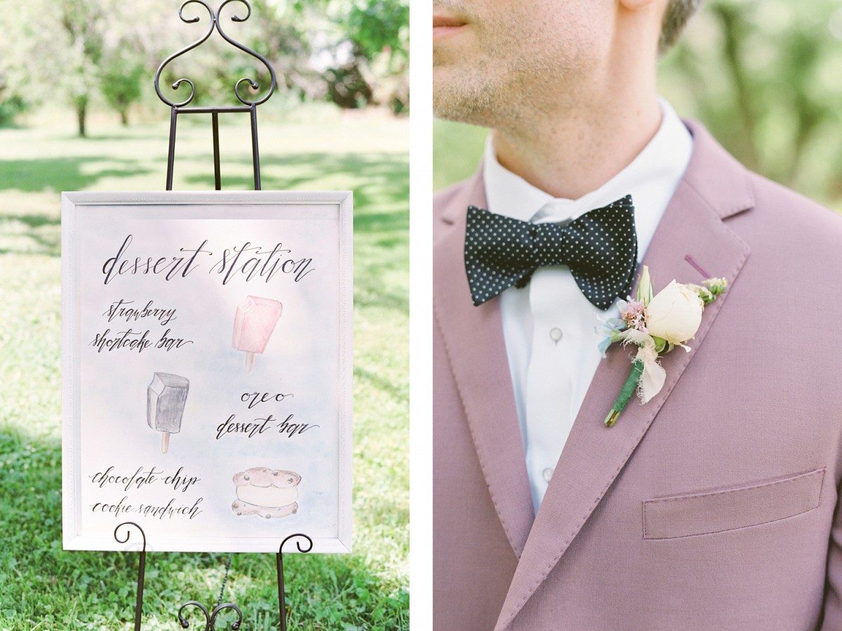 Pastel Wedding Ideas with Ice Cream Theme