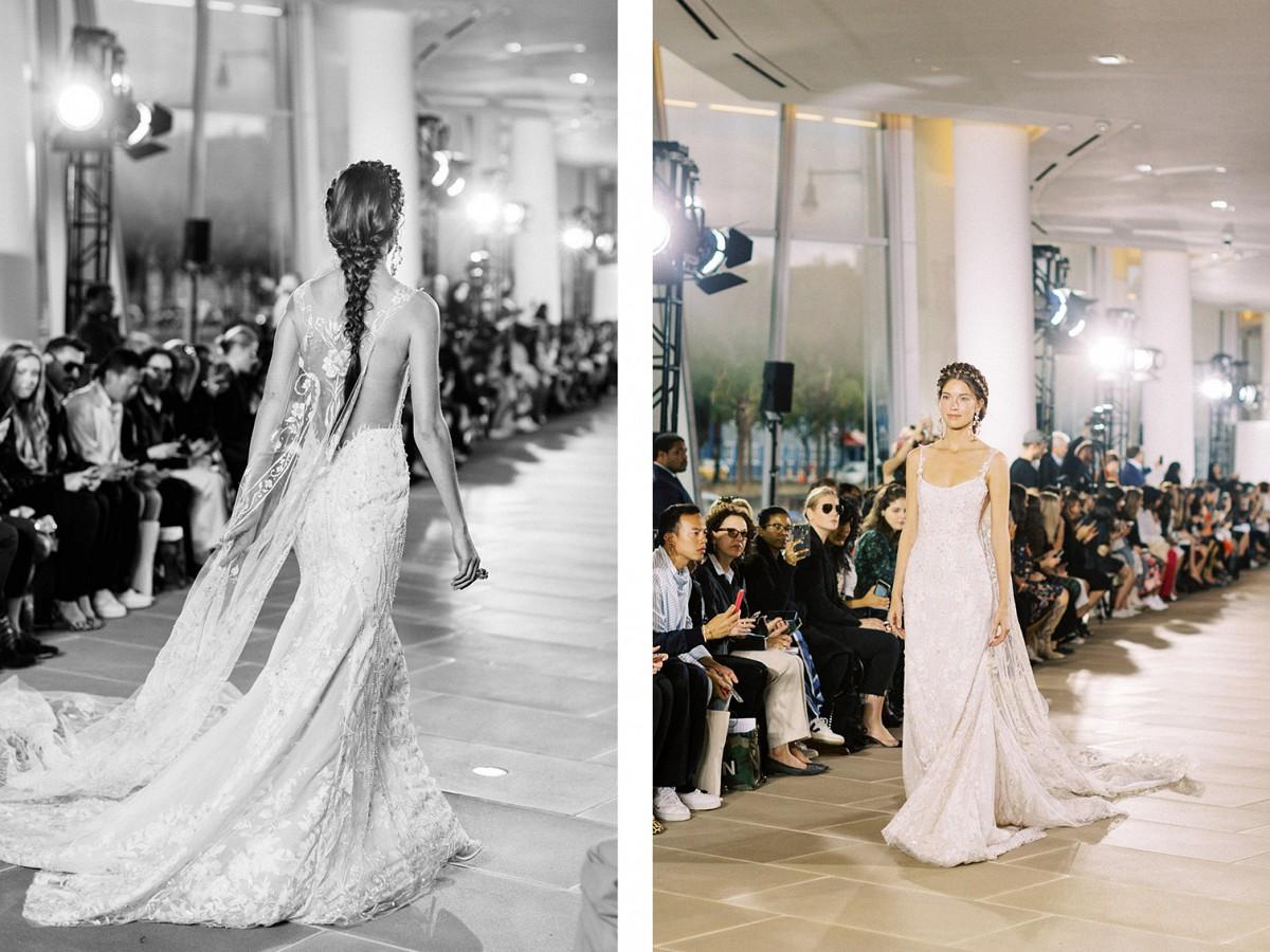 BRIDAL FASHION WEEK 2020 - Ines Di Santo, Justin Alexander and Lee Grebenau