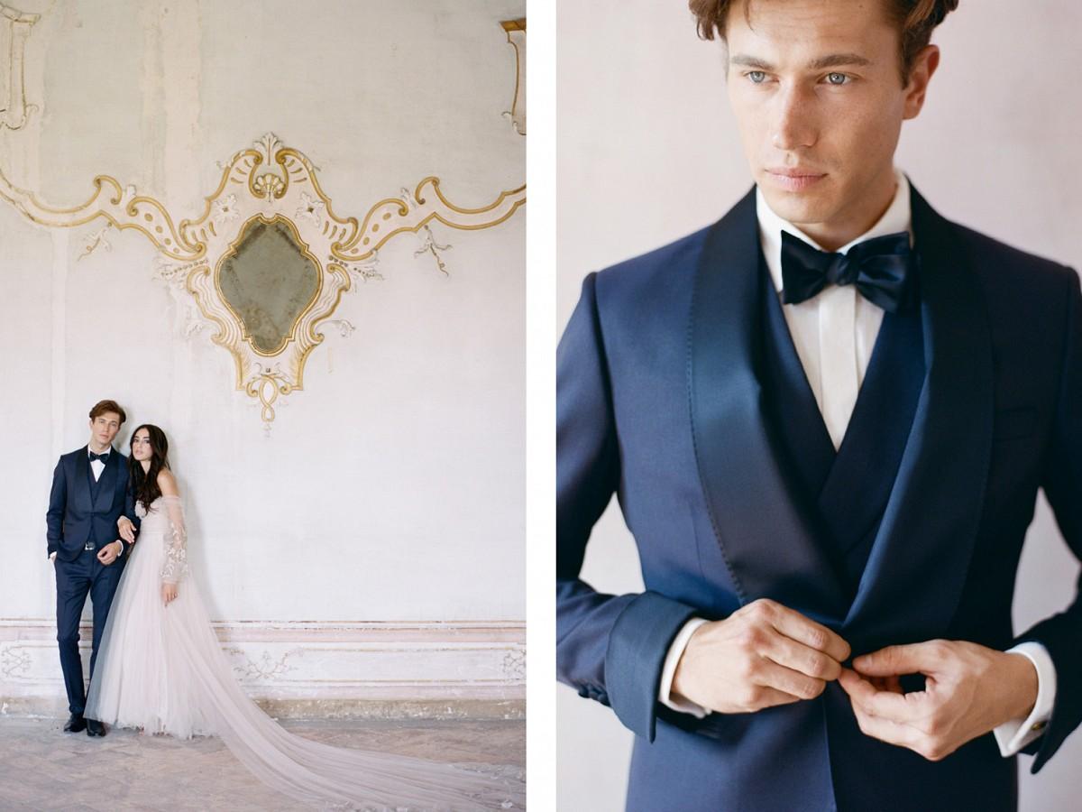 Luxurious and Elegant Italy Wedding Style