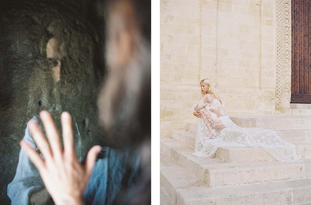 Art inspired old world wedding ideas by Joey Kennedy and Pearl and Godiva   Wedding Sparrow