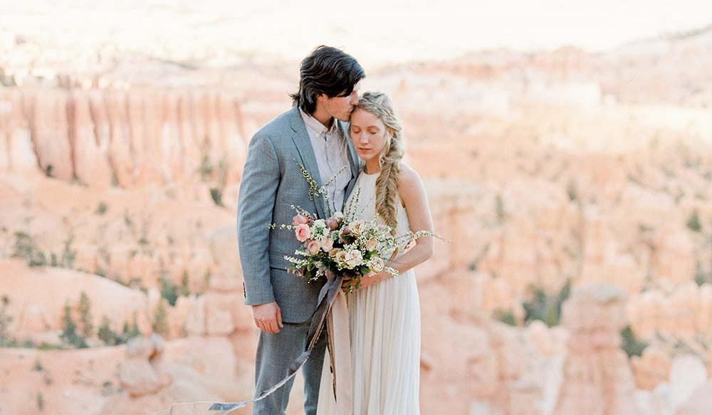 Romantic Desert Elopement