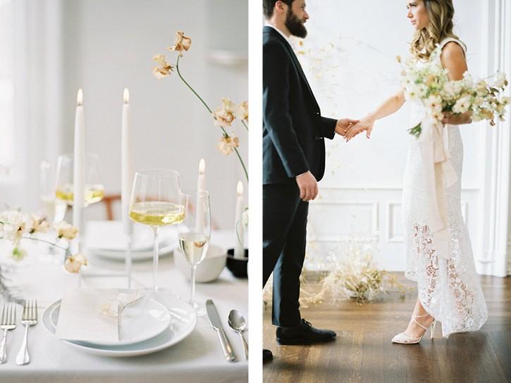 Contemporary Scandi wedding inspiration