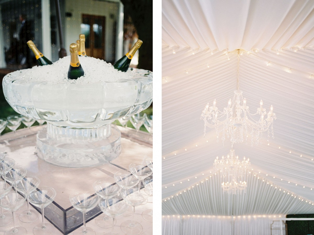 Classic luxe blush and white wedding in Oregon