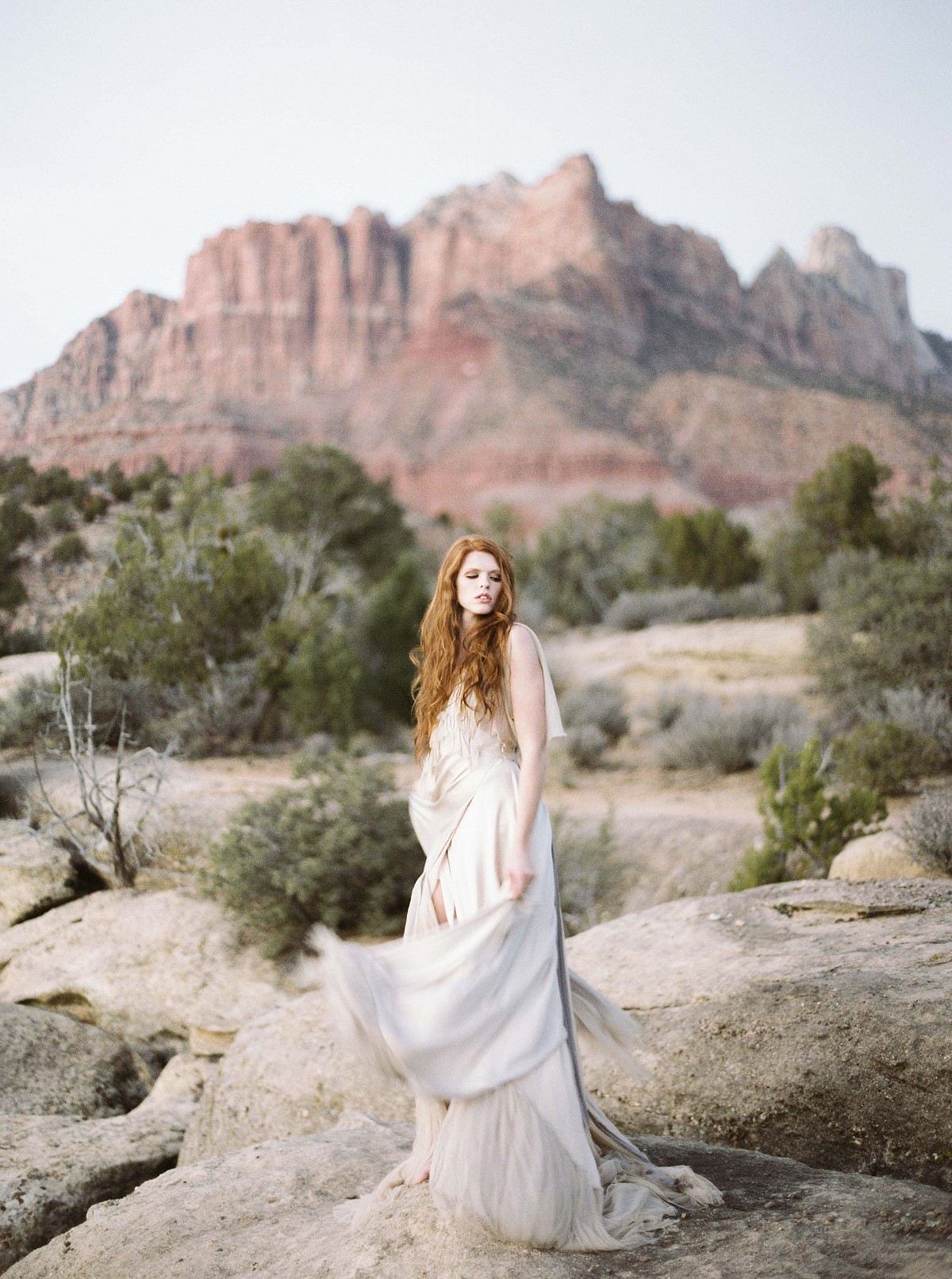 Romantic Bridals in Zion National Park