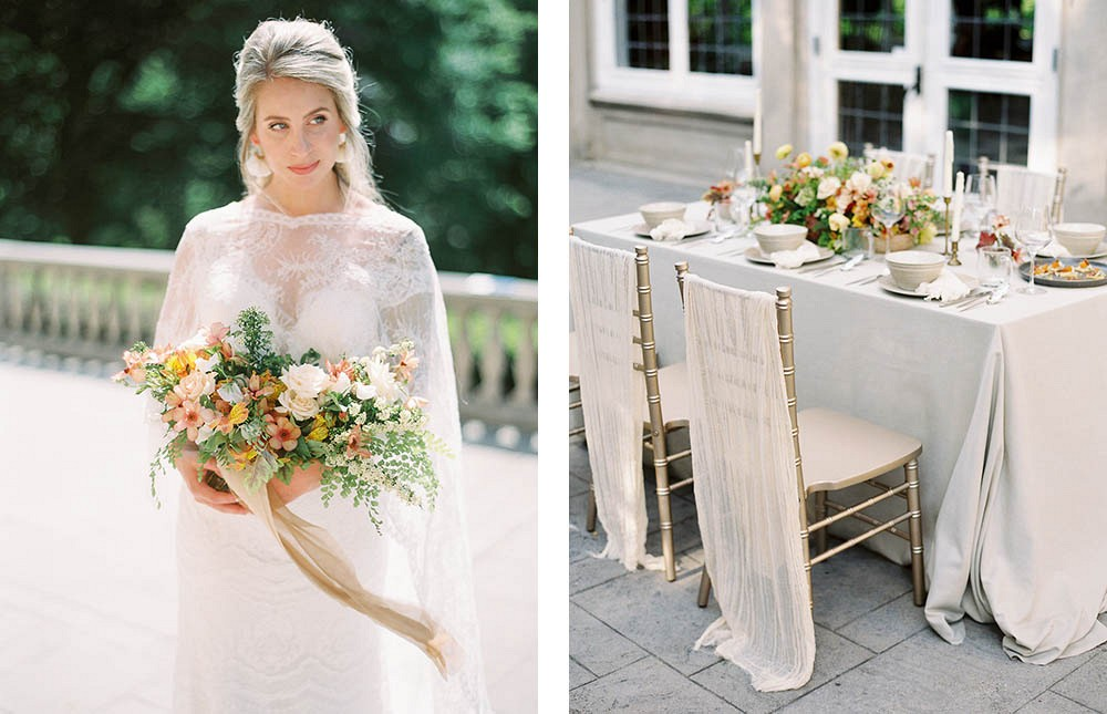 Classic Estate Fall Wedding in the Midwest