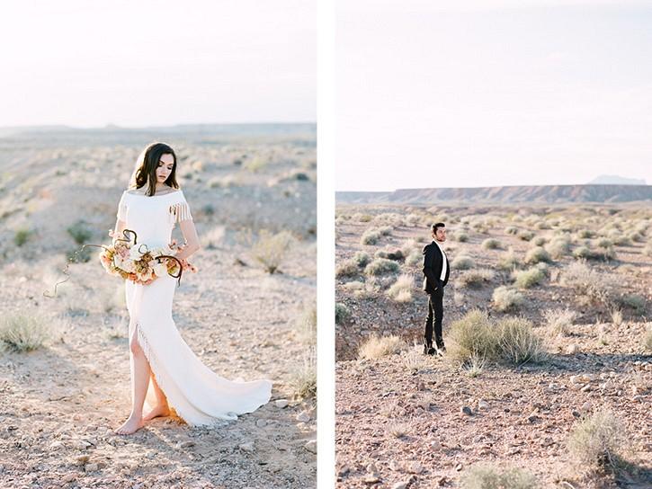 Moody Desert Wedding Ideas