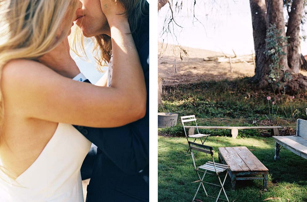 Lauren and Chris' Laid Back Outdoor Wedding by Katie Hyatt Photography | Wedding Sparrow