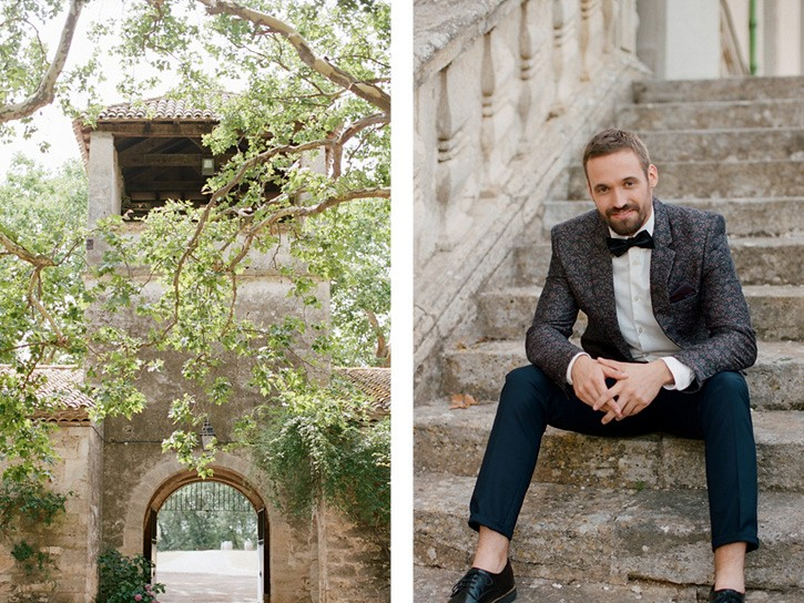 French Vineyard Elopement Inspiration