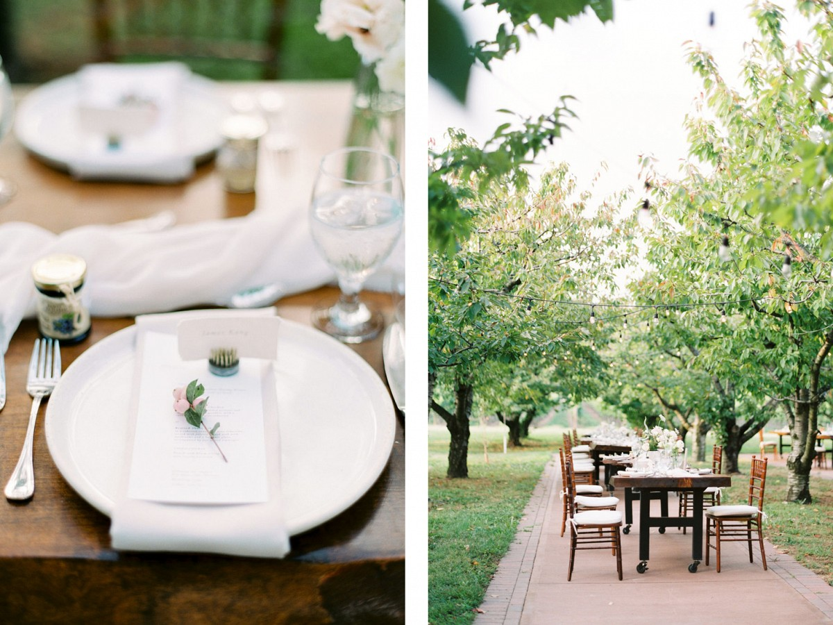 Sweet orchard elopement at Niagara-on-the-Lake