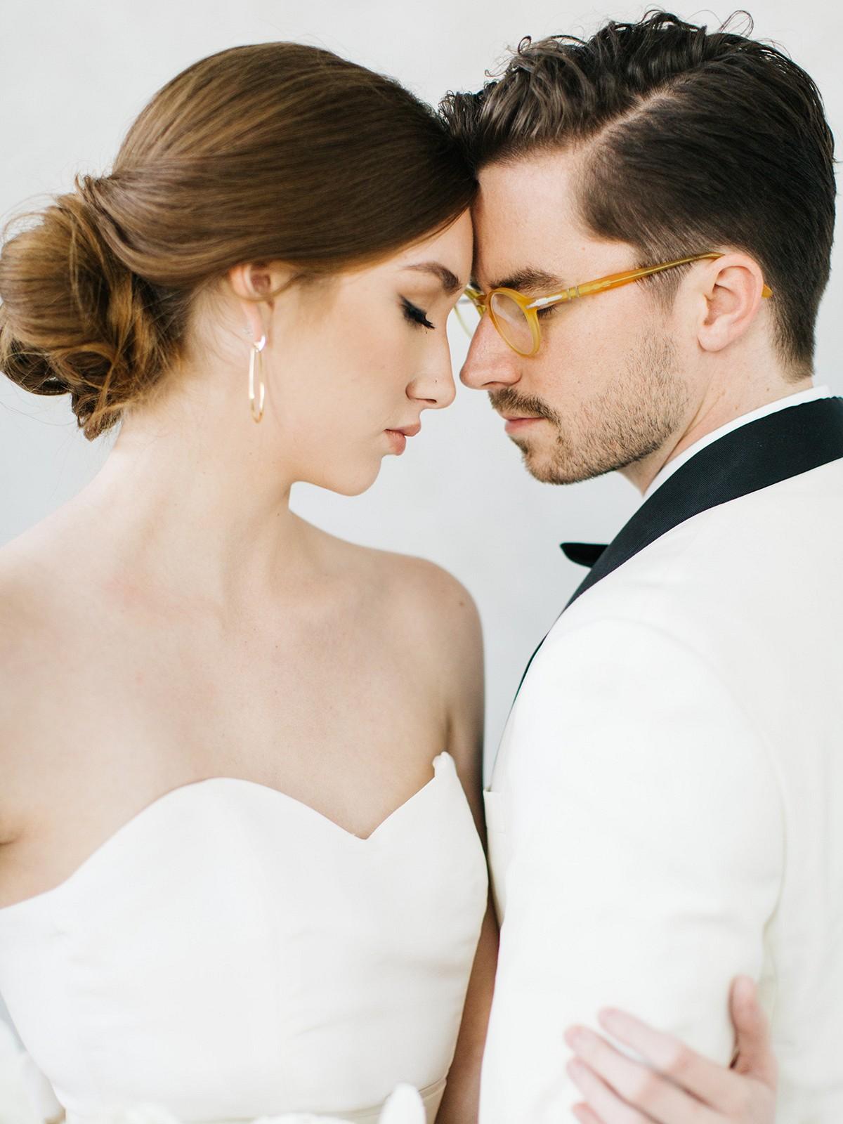 Modern and Feminine Indoor Wedding