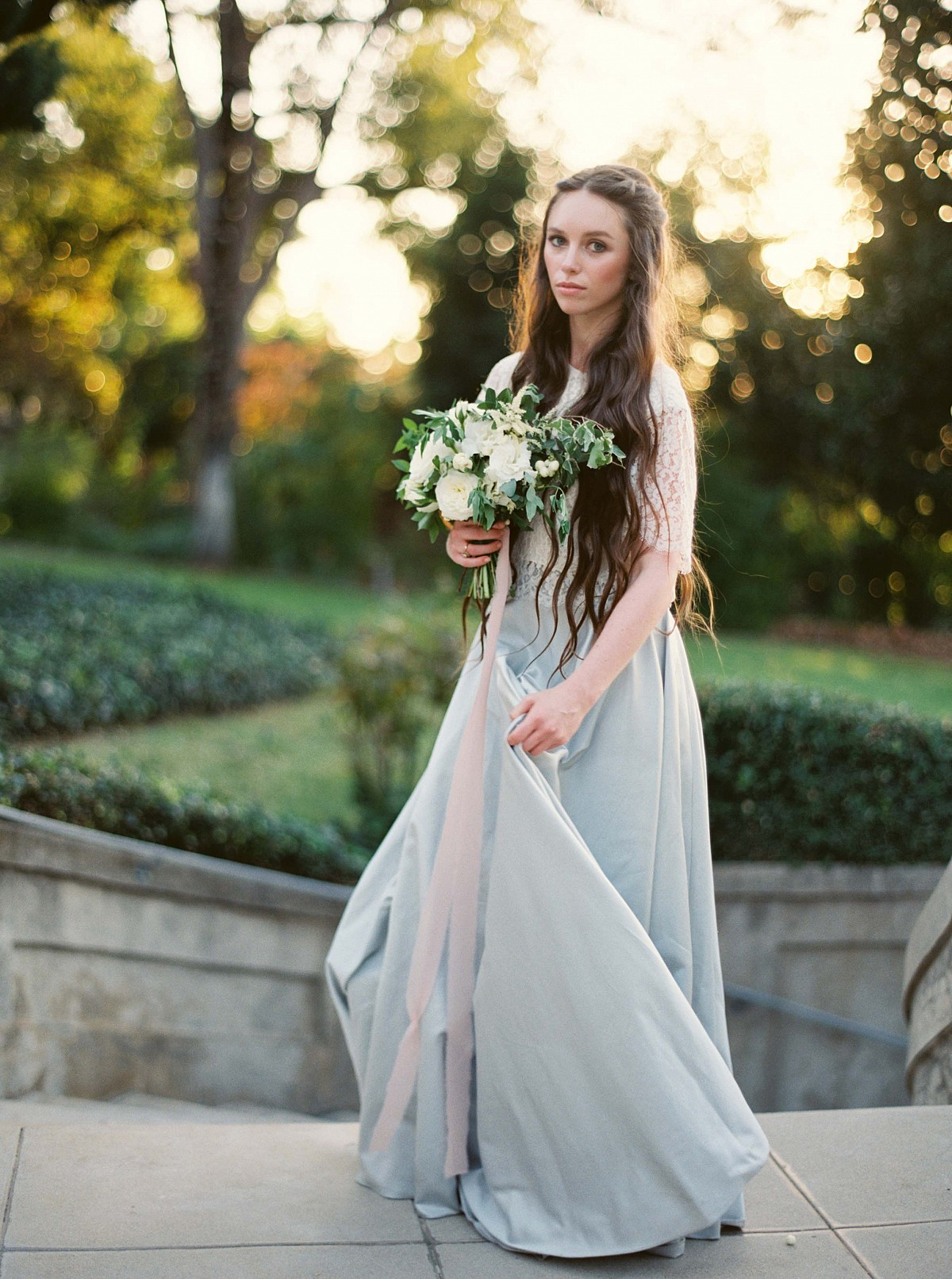 Miss Dior Inspired Bridal Style on Wedding Sparrow