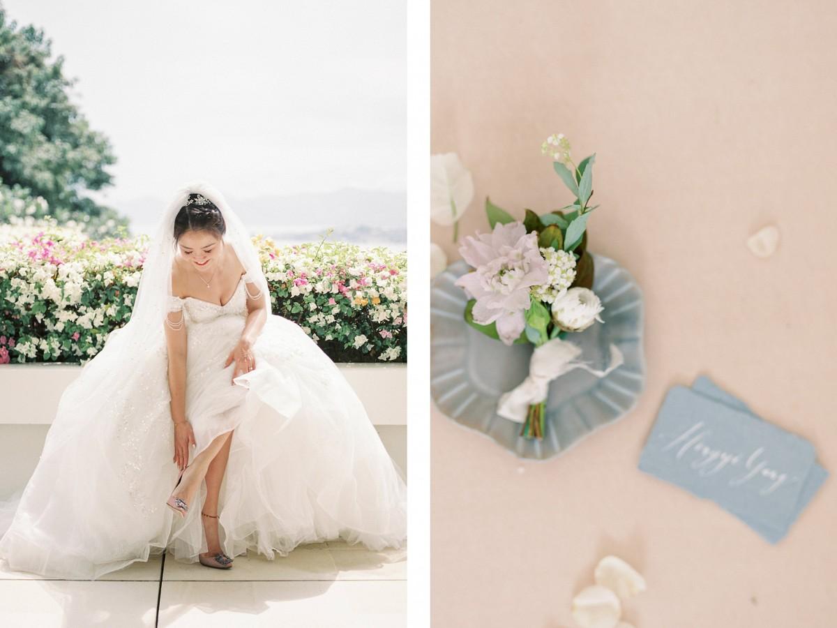Thailand Destination Wedding in a Minimalistic Villa on Koh Samui Island