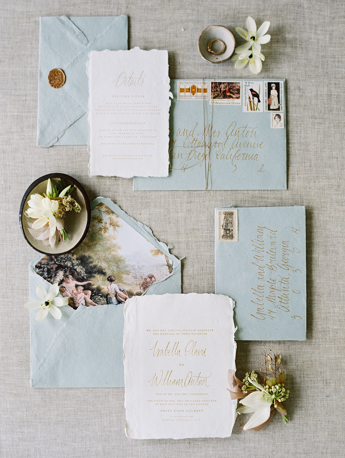 How To Design Your Wedding with a Story in Mind