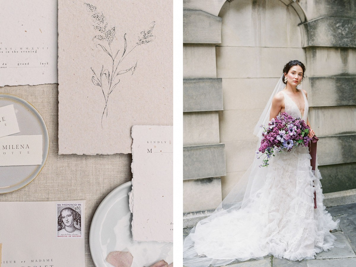 How to Match your Bouquet with your Wedding Dress