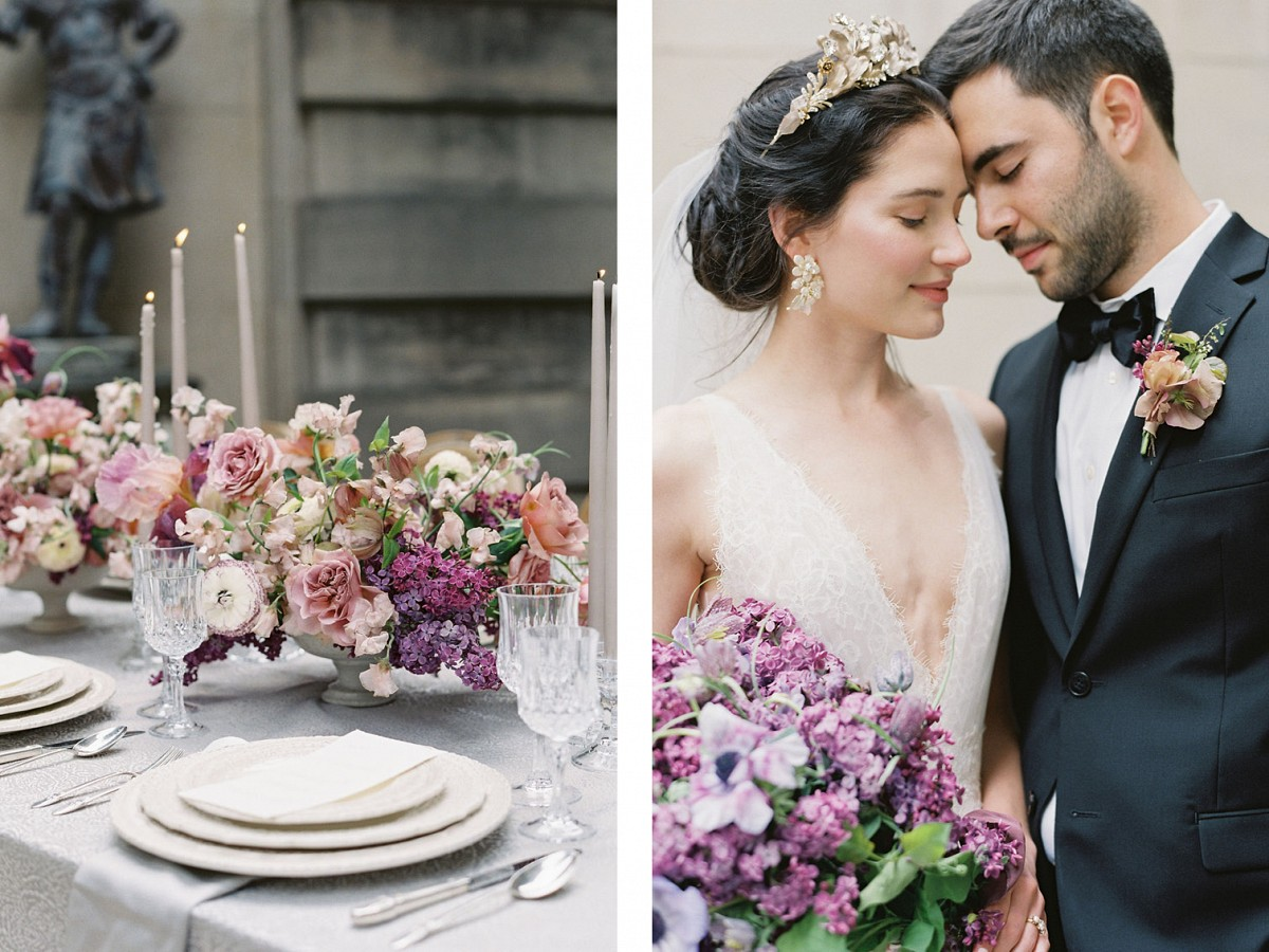 HOW TO MATCH YOUR BOUQUET TO YOUR WEDDING DRESS