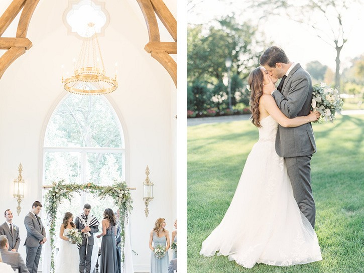 Elegant Park Chateau Wedding with Jewish Ceremony