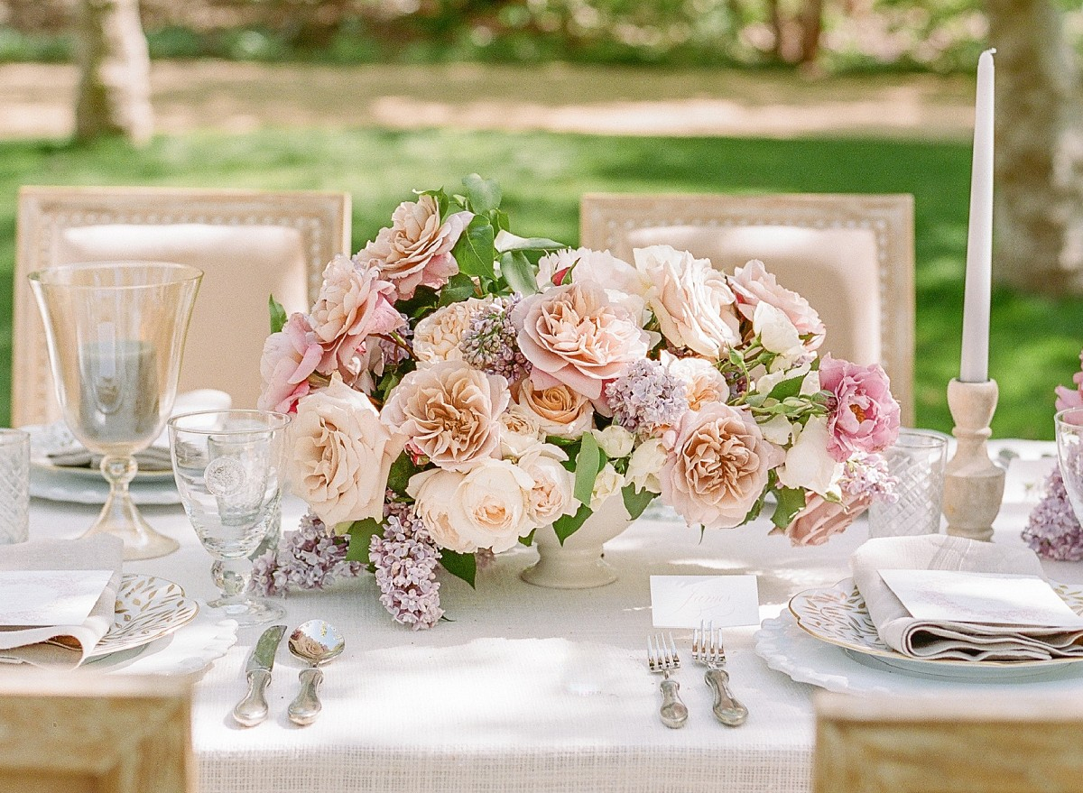 Marie Antoinette French Style Wedding in California