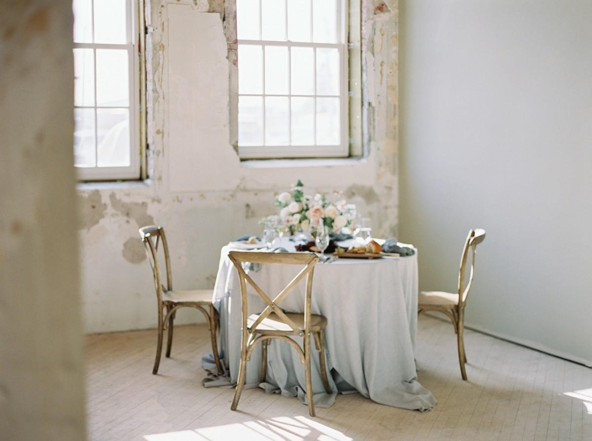 Ethereal Romantic Loft Wedding Ideas