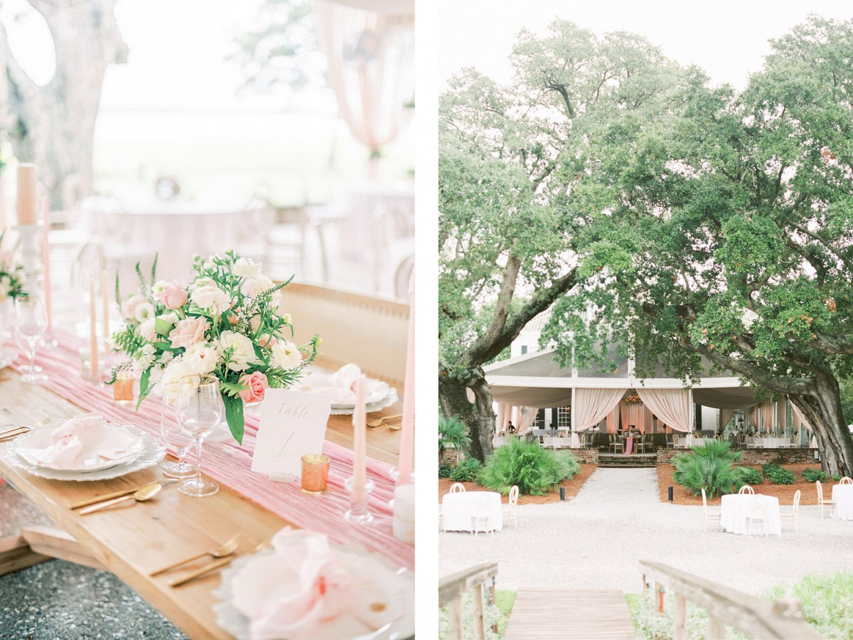 All Things Pink at This Lowndes Grove Wedding