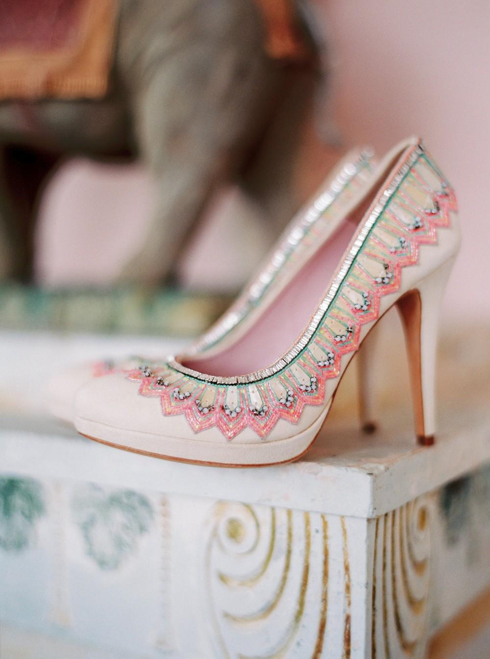 Boho Indian Palace Wedding Inspiration