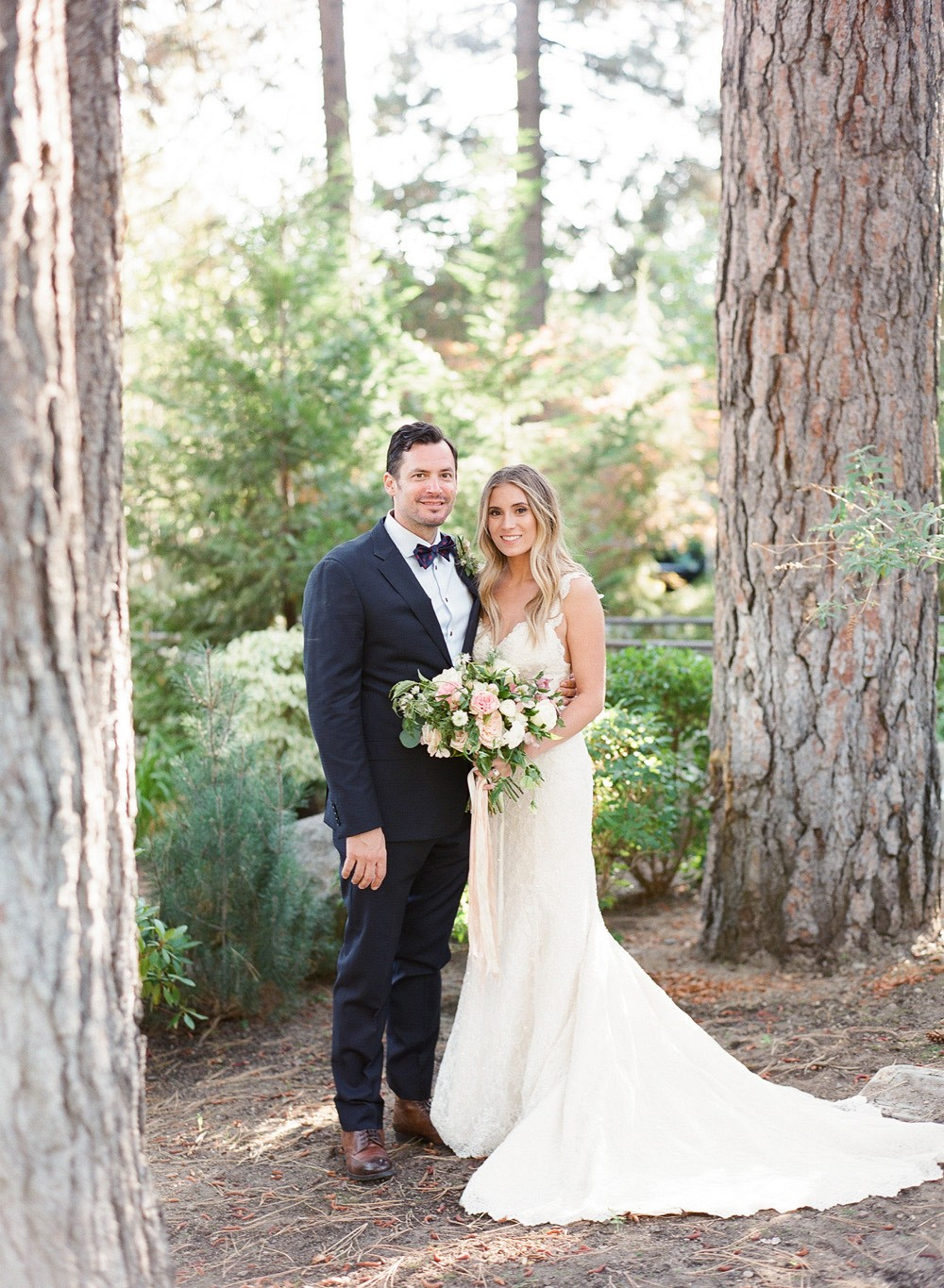 Windswept Lake Tahoe Real Wedding by Lynette Boyle | Wedding Sparrow | wedding blog