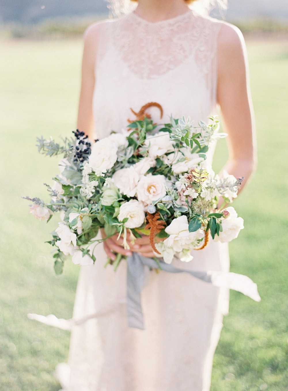 Rustic, Artisanal Countryside Farm Wedding