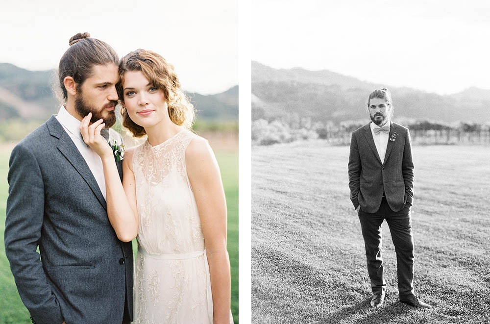 Rustic, Artisanal Countryside Farm Wedding by Lynette Boyle Photography | Wedding Sparrow | fine art wedding blog