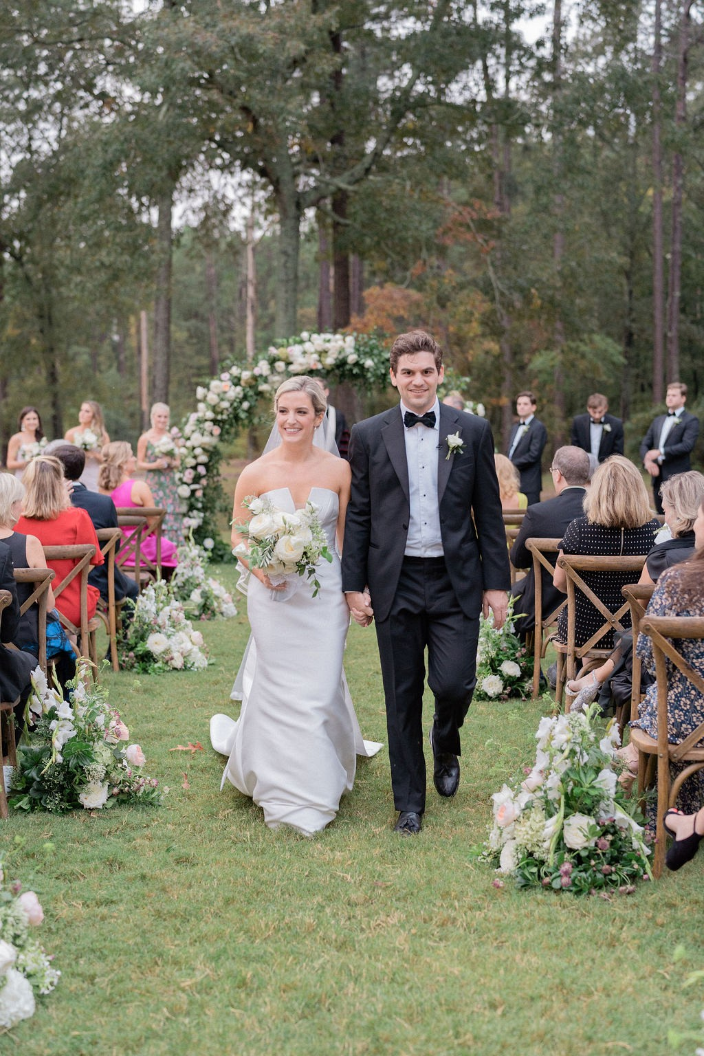 Outdoor Ceremony and Reception for this Postponed Wedding in South Carolina