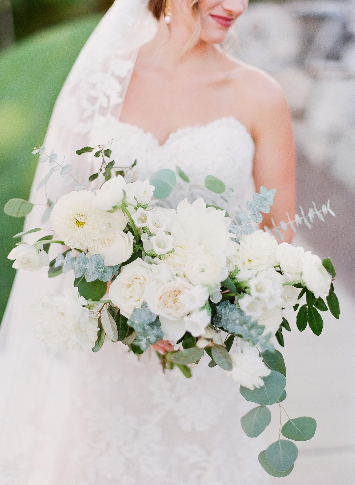 Postponed Wedding in a White Barn Venue
