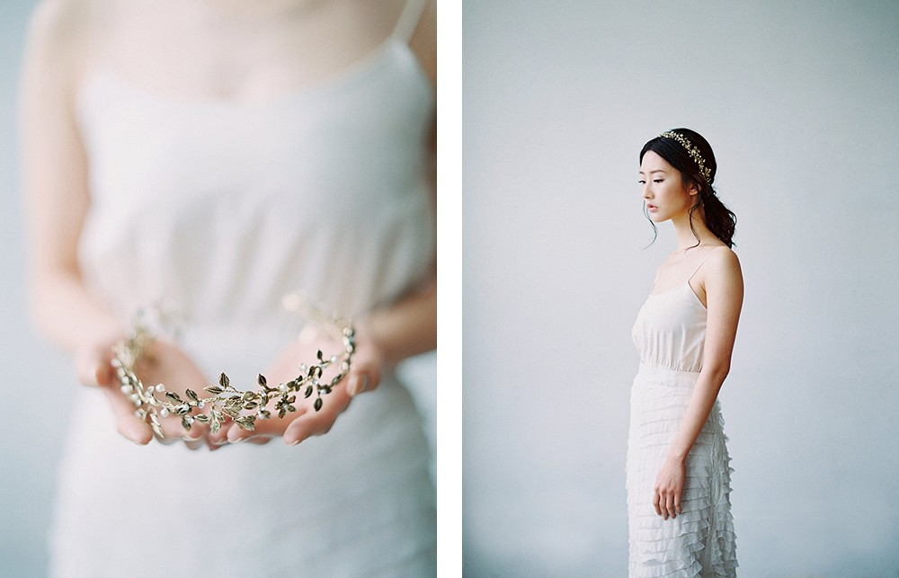 Maggie Wu fine art bridal accessories - 'Play on Heritage' lookbook