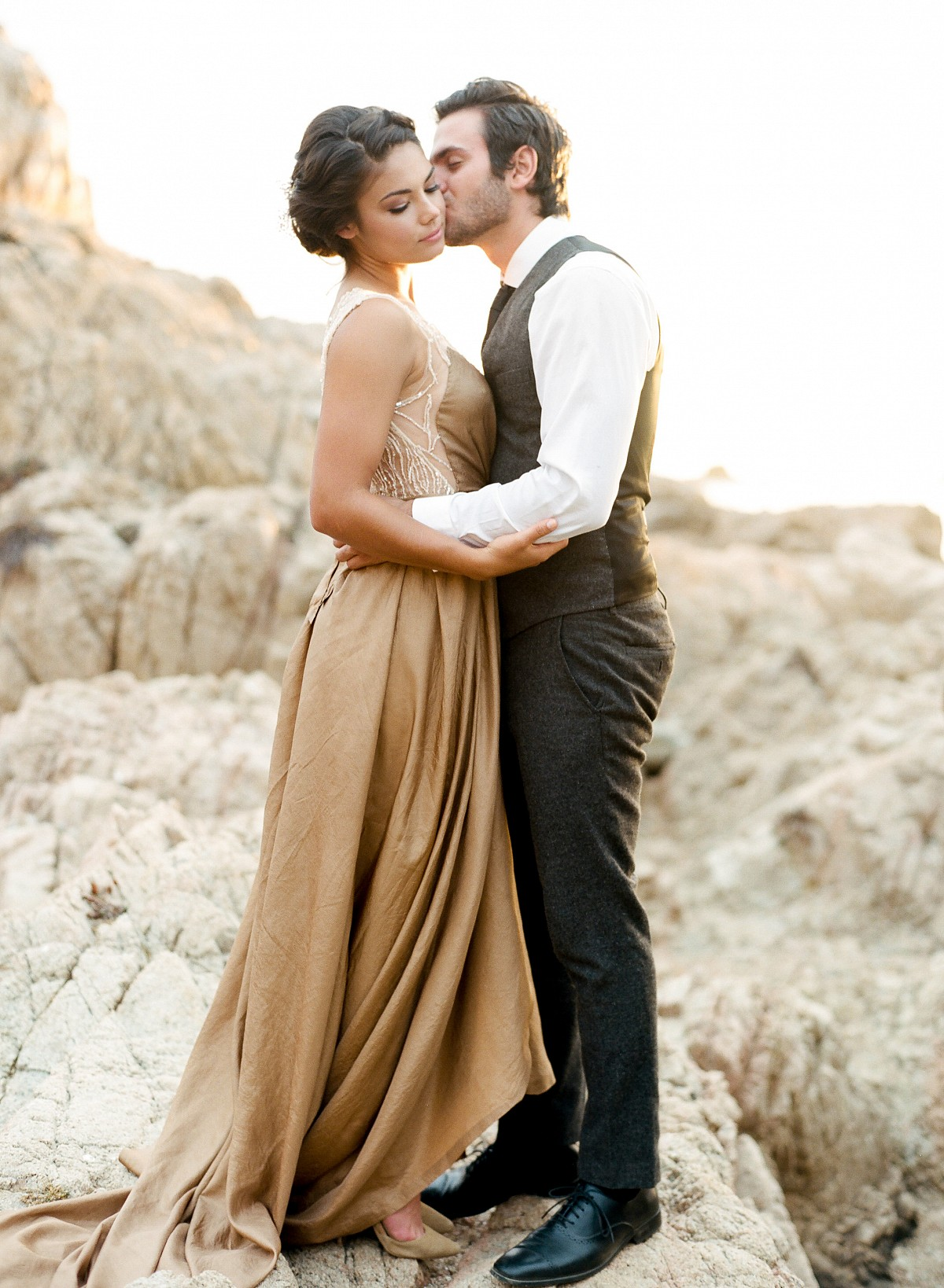 Coastal Couples Session Inspiration at Sunset