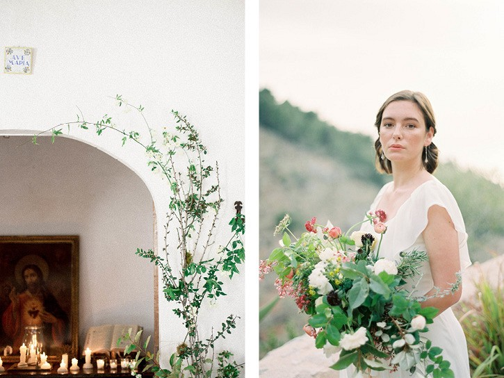 Mallorca Wedding Ideas with Pops of Color