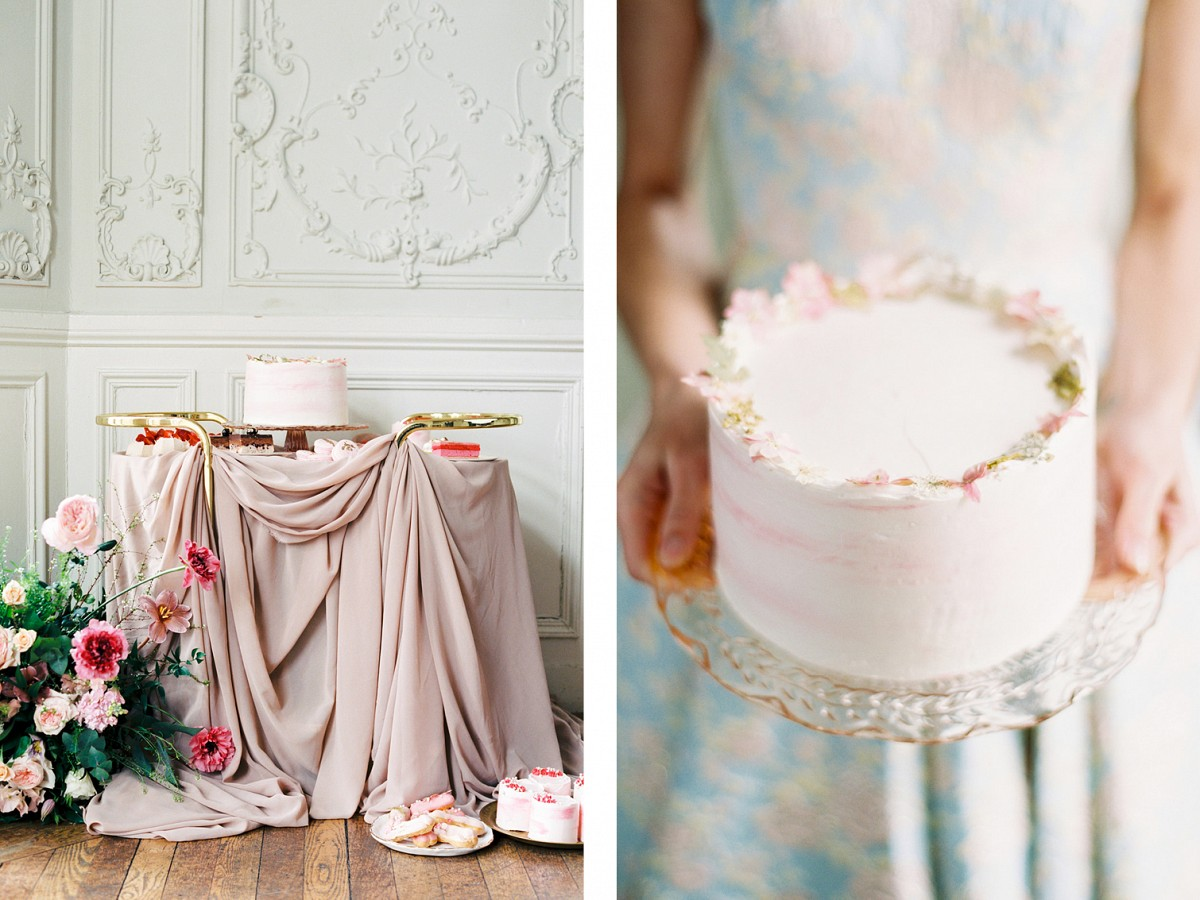 Pale Blue & Peach For This Marie Antoinette Inspired Editorial