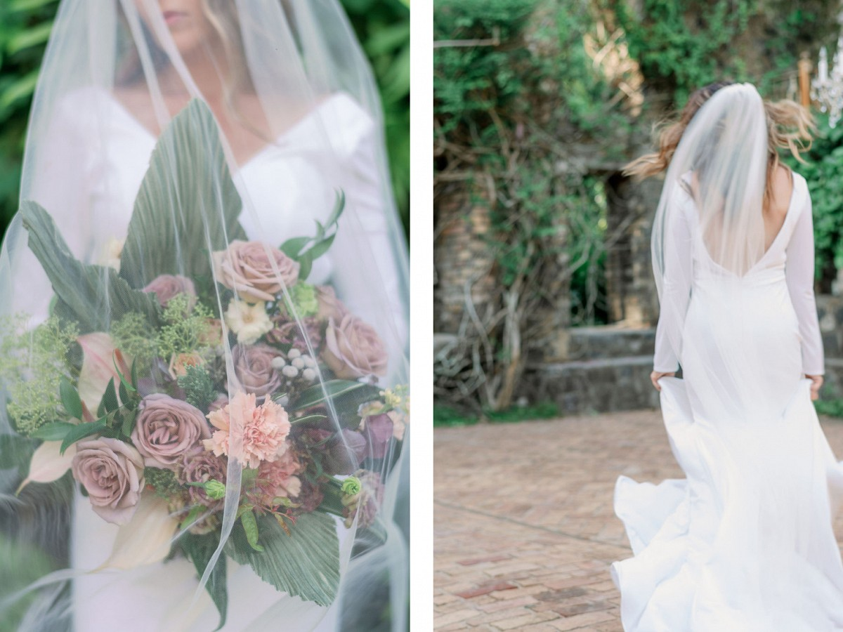Vintage Style Relaxed Wedding Inspiration in Maui