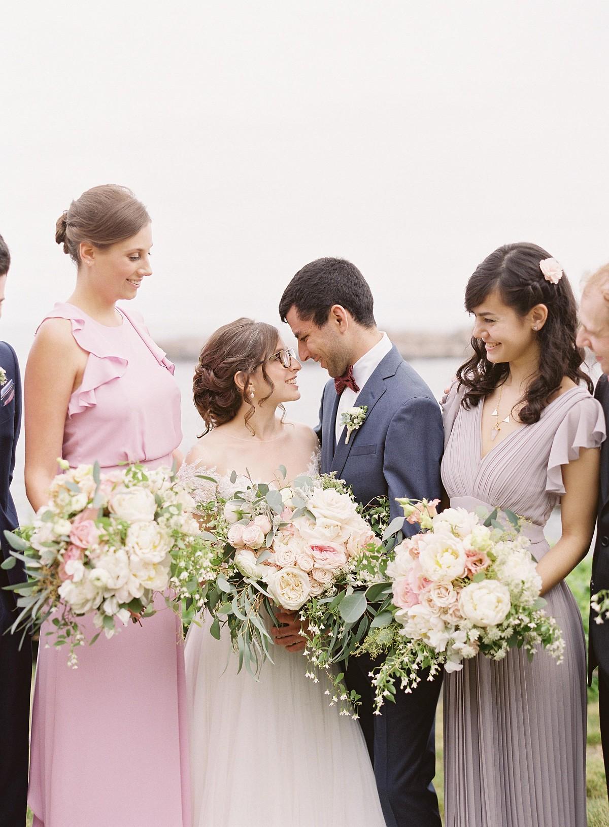 Michelle and Matt's Cliffside Wedding in Maine