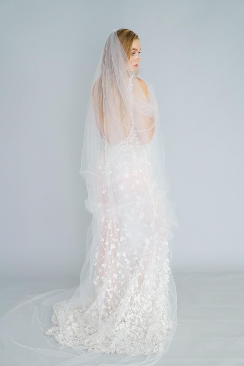 styles of wedding veil - eden luxe
