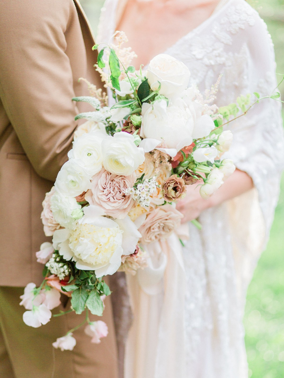 Muted tones bouquet