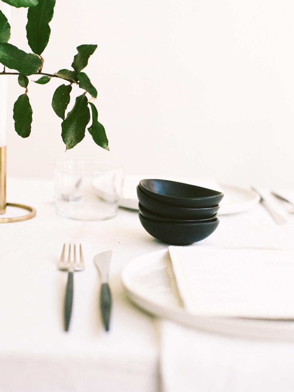minimalist wedding style