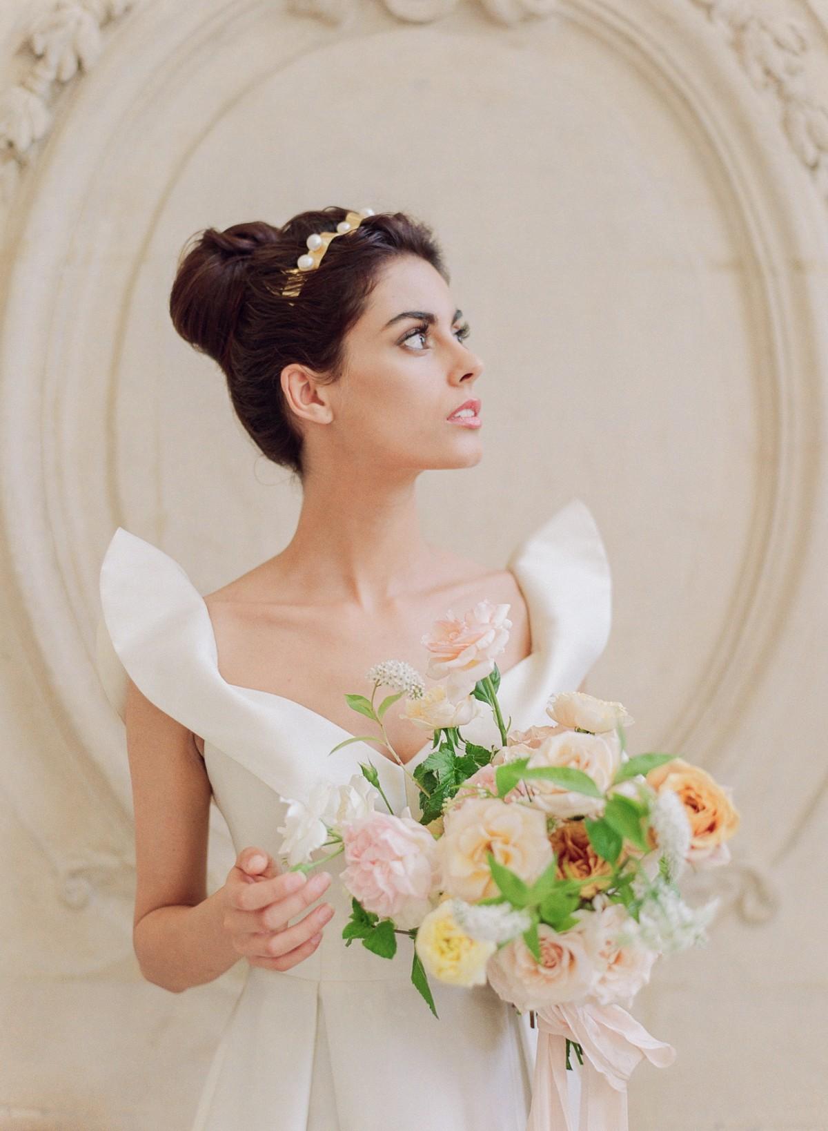 Bridal Inspiration Amongst The Paris Roses