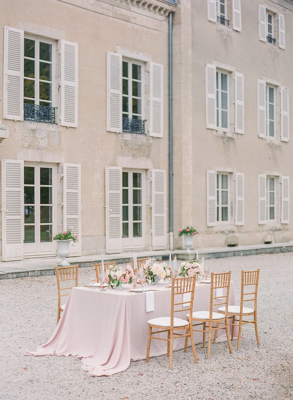 Modern Marie Antoinette Wedding Inspiration