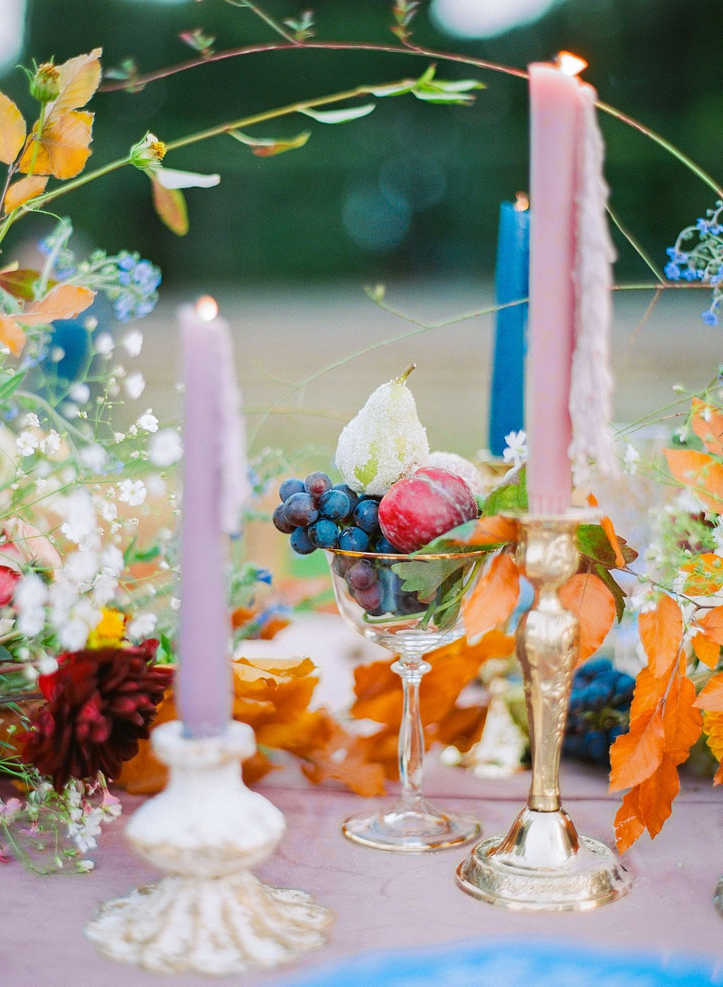 Bold Boticelli Inspired Wedding Design