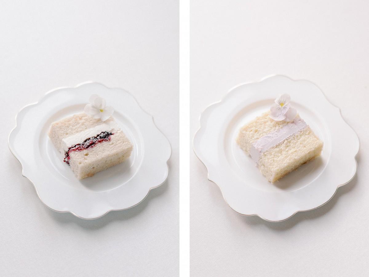 Spring wedding cake flavours by Mon Annie