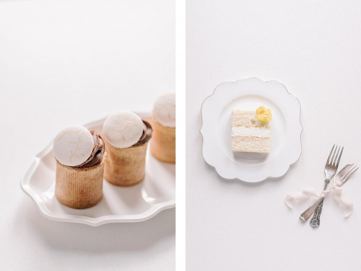 Winter wedding cake ideas by Mon Annie