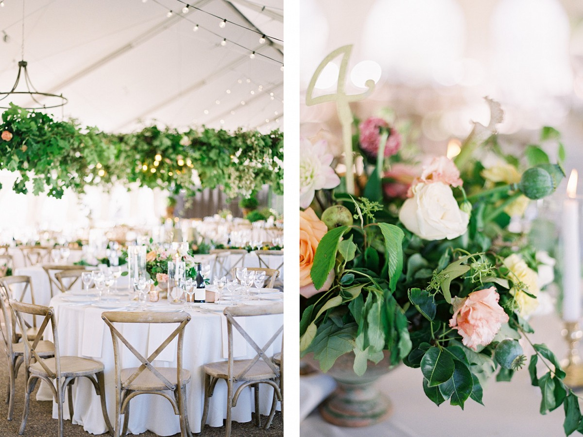 Moss Mountain Farm Wedding with Colorful Blooms