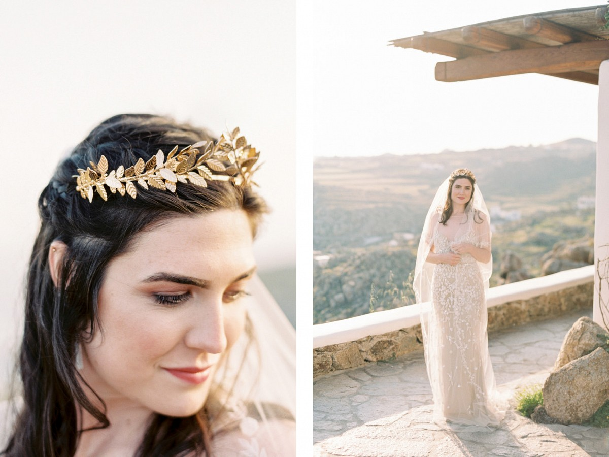 Romantic Elopement in Mykonos, Greece