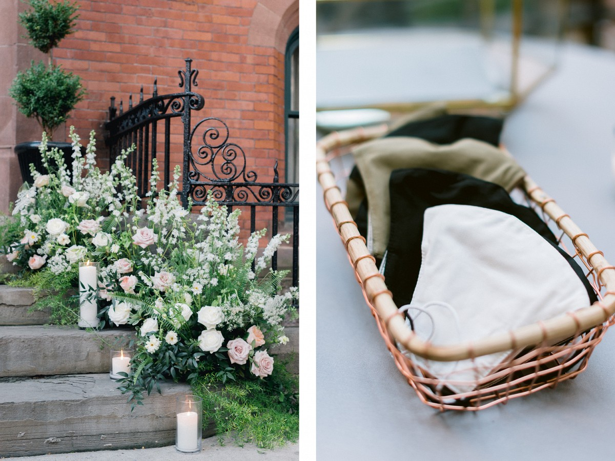 Formal NYC Church Wedding for 25 Guests